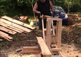watch diy chainsaw mill for less than