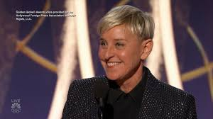 ellen degeneres receives carol burnett