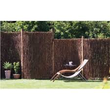 Mgp 8 Ft L X 8 Ft H Willow Twig Privacy Screen Fence Wtf 8 The Home Depot