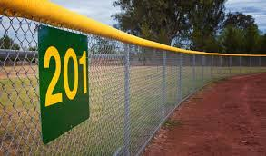 Baseball Top Rail Cap And Padding Baseball Windscreens