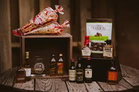 whiskey gift basket