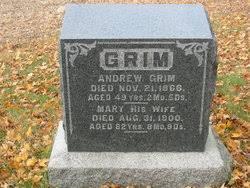 Mary Stofer Grim (1818-1900) - Find A Grave Memorial