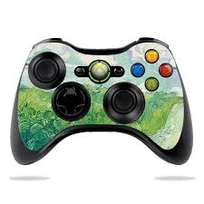 Skin For Microsoft Xbox 360 Controller Green Wheat Fields Protective Durable And Unique Vinyl Decal Wrap Cover Easy To Apply Remove And Change Styles Walmart Com Walmart Com
