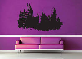 Hogwarts Castle Harry Potter Wall Decal No 1 Geekerymade