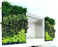vertical garden inside house