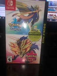 Pokemon Sword and Shield Double Pack PLEASE READ Desc.   US $80.00   Pokemon,  Nintendo pokemon, Sword
