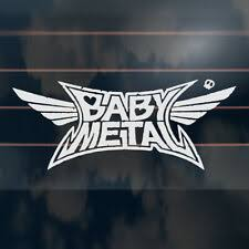 Babymetal Car Sticker 195mm Cute Kawaii Metal Music Window Decal For Sale Online Ebay