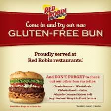 red robin gluten free buns