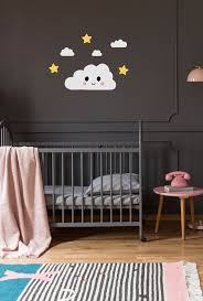 Dreamers Happy Cloud Wall Decal For Kids Rooms And Nurseries Made Of Sundays