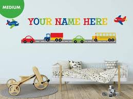 airplane wall decals kids wall