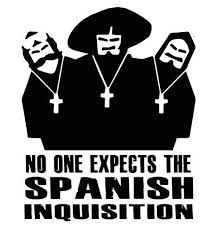 For No One Expects The Spanish Inquisition Sticker Vinyl Decal Monty Python Circus Various Sizes Car Stickers Aliexpress