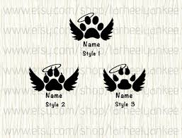 Personalized Pet Memorial Car Decal Dog Memorial Car Decal Etsy In 2020 Dog Memorial Tattoos Dog Tattoos Pet Memorial Tattoo