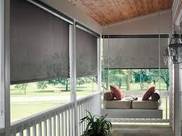 choosing outdoor roller blinds
