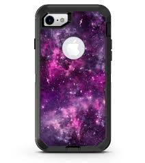 Vibrant Purple Deep Space Iphone 7 Or 7 Plus Otterbox Defender Case Designskinz