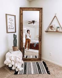 mirror wood mirror full length mirror