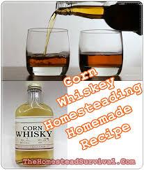 corn whiskey homesteading homemade