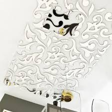 mirror stickers tile stickers wall