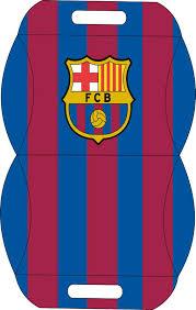 Caja Almohada Equipo De Futbol Barcelona Invitaciones De