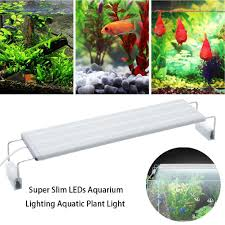 Đèn LED siêu mỏng 220v Chiếu sáng hồ cá chiếu sáng thực vật thủy sinh Clip  mở rộng trên đèn cho bể cá