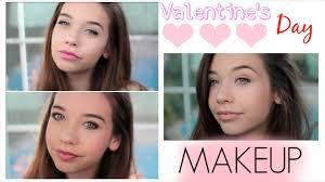 three valentines day makeup looks