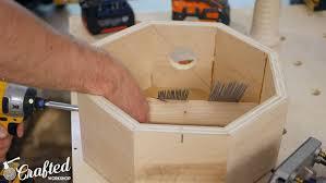 wood snare drum diy cajon snare