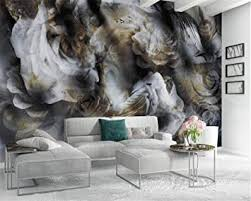 3d Wall Mural Wallpaper For Kids Bedroom Hd Print Abstract Floral Background Large Poster Photo Wallpaper Removable Modern Premium Wall Art Home Decor 150cmx105cm Amazon Com