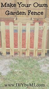 Keep Animals And Little Ones Out Of Your Garden With This Diy 3 Ft Wood Picket Garden Fence It Even Has A Diy Garden Fence Garden Fence Cheap Garden Fencing