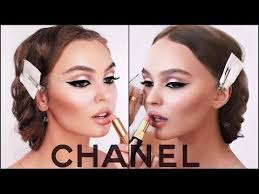 lily rose depp makeup tutorial chanel