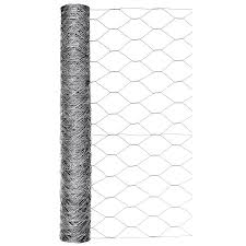 Blue Hawk Rolled Wire 50 Ft X 2 Ft Galvanized Steel Chicken Wire Garden Poultry Netting Rolled Fencing In The Rolled Fencing Department At Lowes Com