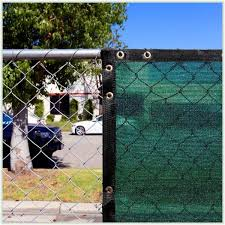 Colourtree 4 Ft X 12 Ft Green Privacy Fence Screen Mesh Fabric Cover Windscreen With Reinforced Grommets For Garden Fence Tap0412 1 The Home Depot