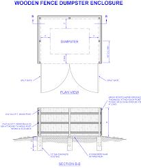 Dumpster Enclosure Permit Inspection Requirements North Miami Fl
