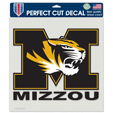 University Of Missouri Decal Stl Authentics