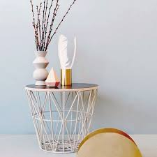 wire basket top large by ferm living