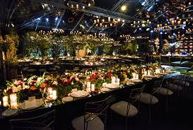 impressive garden wedding decoration