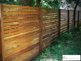 Pin By Fence Workshop On Modern Horizontal Fence Design Backyard Fences Modern Fence Rustic Fence