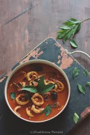 Kerala squid curry – Foodolicious Pictured
