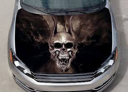 Trivium Skull Car Hood Wrap Color Vinyl Sticker Decal Fit Any Car Ebay