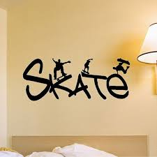 Pin By Preston Mcnerney On Cool Stuff Skateboard Room Wall Decals Skateboard Decor