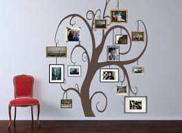 Family Photo Tree Giant Tree Wall Decals Trading Phrases