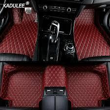 2020 custom car floor foot mat for