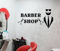 Wall Decal Barber Shop Beauty Salon Style Fashion Beauty Words Vinyl S Wallstickers4you