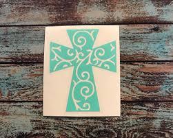 Cross Decal Cross Yeti Decal Cross Car Decal Cross Tumbler Decal Cross Sticker Vinyl Decal