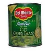 del monte cut green beans blue lake