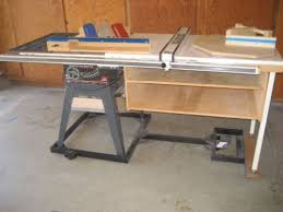 Craftsman 10 Table Saw 42 Biesmeyer Extension Fence System Mobile Base Weld Learn Woodworking Woodworking Wood Rustic Woodworking