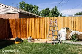 Staining A Fence Aka Waterproofing