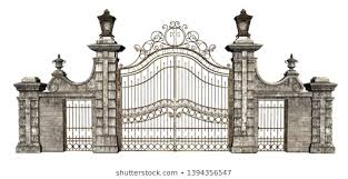 Cemetery Gate Images Stock Photos Vectors Shutterstock
