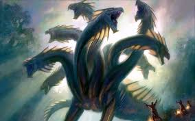 fantasy hydra dragon wallpaper