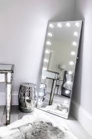 alexandria full length hollywood mirror
