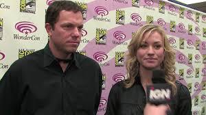 WC 09: Adam Baldwin and Yvonne Strahovski Interview - YouTube