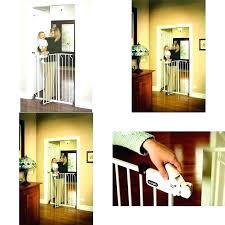 Swinging Pet Gate For Stairs Interior Dog Door Extra Tall Walk Thru Baby Indoor Fence Safety Barrier Icparklins